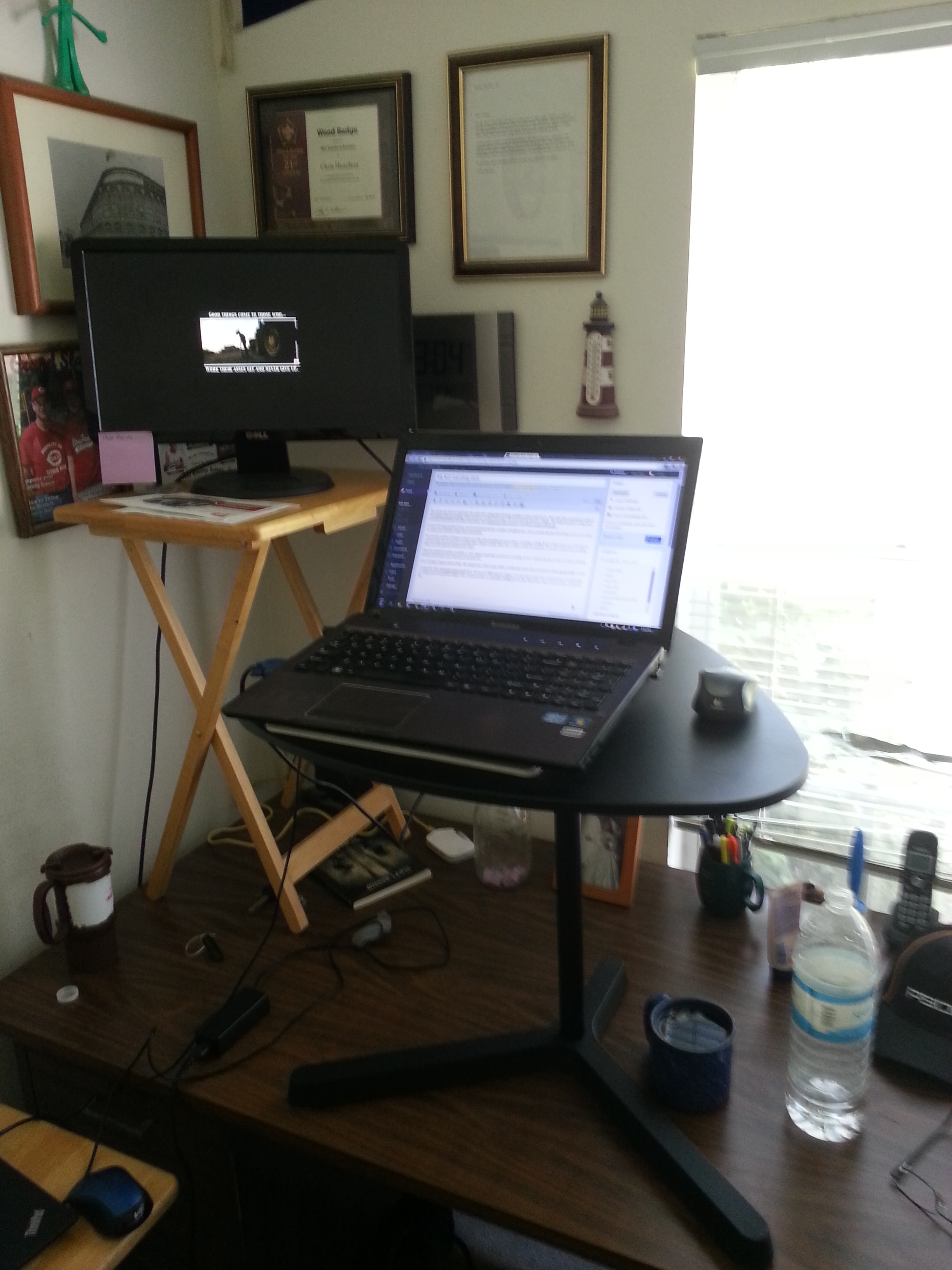 My 22 Standing Desk Chris Hamilton S Stuff