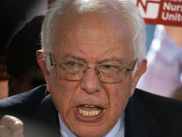 This is Senator Sanders' Dick Cheney face