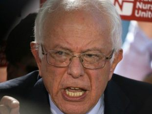This is Senator Sanders' Dick Cheney face